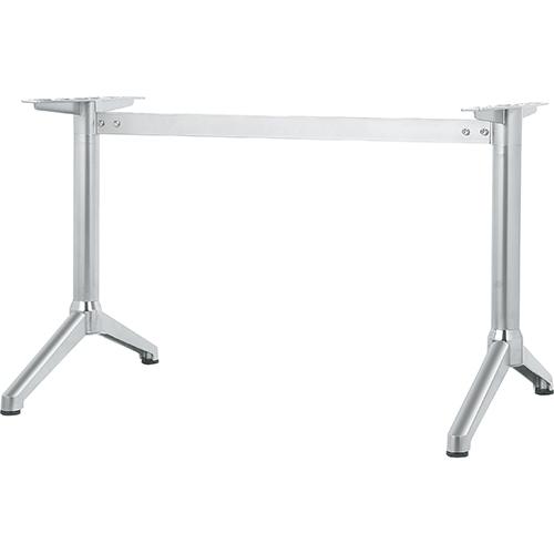 ハヤシ 日時指定 アルミ鋳物テーブル脚 人気海外一番 ベースサイズ:A700×高さ700mm迄指定可×間口 芯々 1300mm 送料別 ポール:60φ 塗装カラー:88 品番:DC-Y-700
