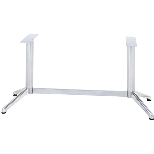 ハヤシ アルミ鋳物テーブル脚 WEB限定 ベースサイズ:A770×B230×高さ700mm迄指定可×間口 芯々 1300mm 塗装カラー:18 ポール:76φ セール商品 送料別 品番:DC-V-450