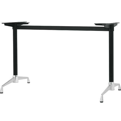 高い素材 ハヤシ アルミダイキャストテーブル脚 ベースサイズ:A750×高さ700mm迄指定可×間口 芯々 メーカー在庫限り品 1300mm 塗装カラー:14AM ポール:42φ 品番:SS-LS-750 送料別