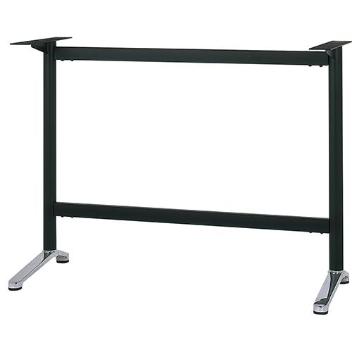 ハヤシ 人気ブランド多数対象 アルミダイキャストハイテーブル脚 ベースサイズ:A440×高さ1000mm迄指定可×間口 与え 芯々 1300mm 送料別 品番:MC-S-440 塗装カラー:14 ポール:50φ