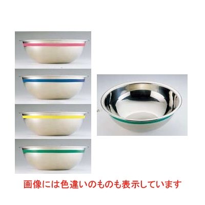 SA 18-8 カラーライン ボール 55cm イエロー [3-0160-0159] 【業務用】【グループC】