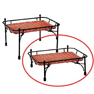 プリート 積み重ねスタンド角 ブラウンセット DS515-16-BR 低/業務用/新品