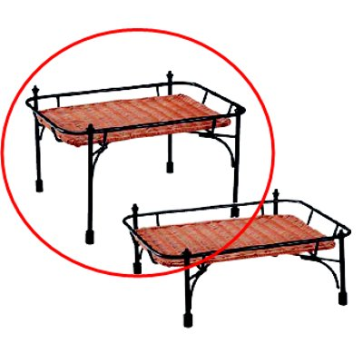 プリート 積み重ねスタンド角 ブラウンセット DS515-25-BR 高/業務用/新品