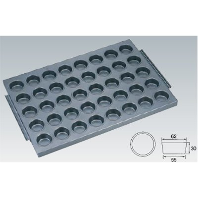 シリコン加工 カップ型天板 40面 SN9082 【業務用】【グループT】