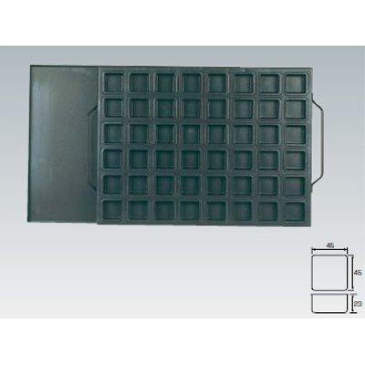 シリコン加工 正角型天板 48面(蓋付) SN9070 【業務用】【グループT】