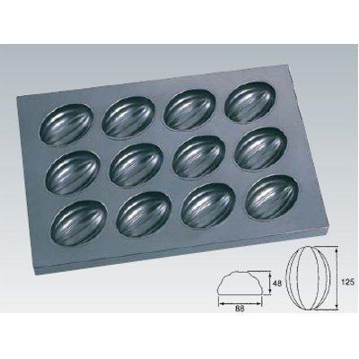 シリコン加工 メロン型天板 12面/業務用/新品/テンポス