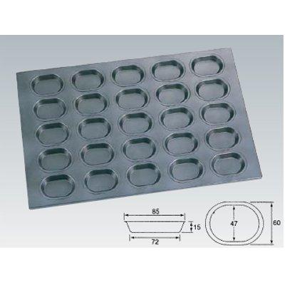 シリコン加工 小判型天板 25面/業務用/新品