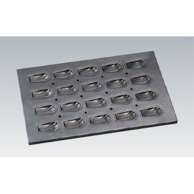 シリコン加工貝型マドレーヌ天板 20面 SN9045 【業務用】【グループT】