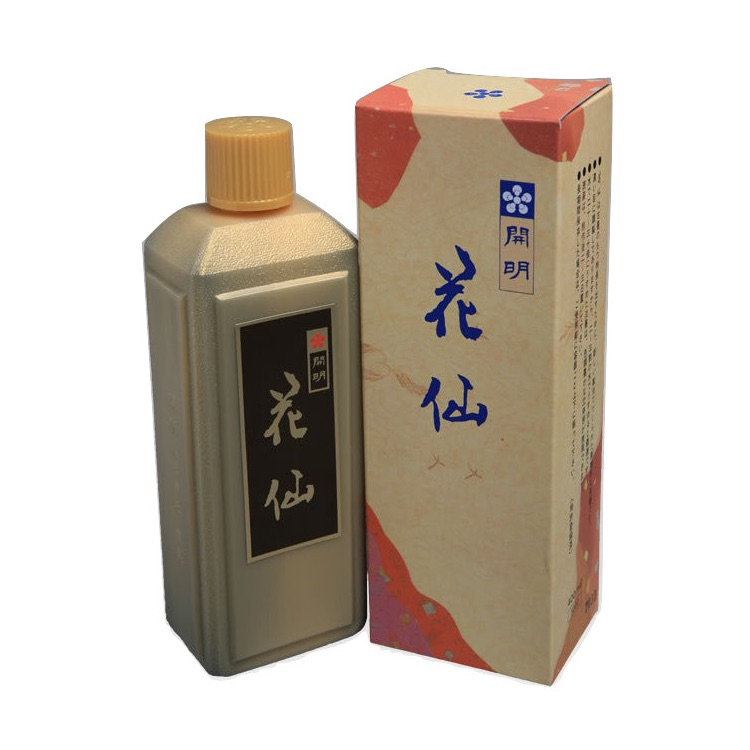 開明墨汁 花仙(400ml)6本セット
