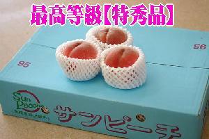 新福島サンピーチ桃通信販売 福島ブランド桃を販売取寄。約5kg 約13玉~約18玉