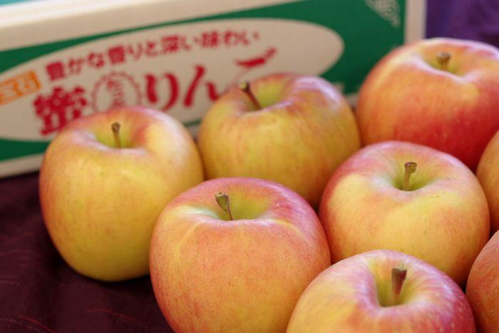 こみつりんご販売 直送商品 蜜入お歳暮林檎の通販 品種名 約6玉~約12玉 高徳こうとく青森県産 供え