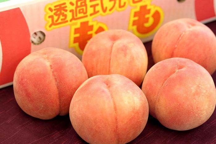 福島桃最上等級【天】取寄 糖度約13.5度のももを通信販売。約5kg 約13玉~約18玉