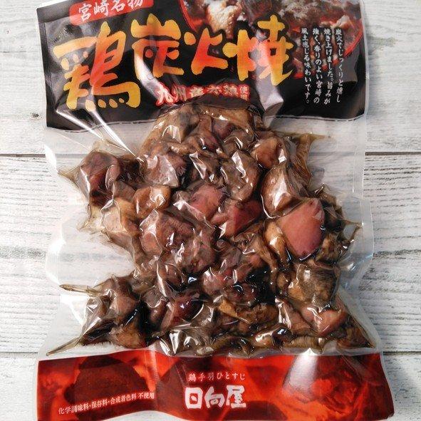 トレンド ※地鶏ではありません※ 日向屋 宮崎名物 九州産赤鶏使用 鶏炭火焼 通信販売 300g
