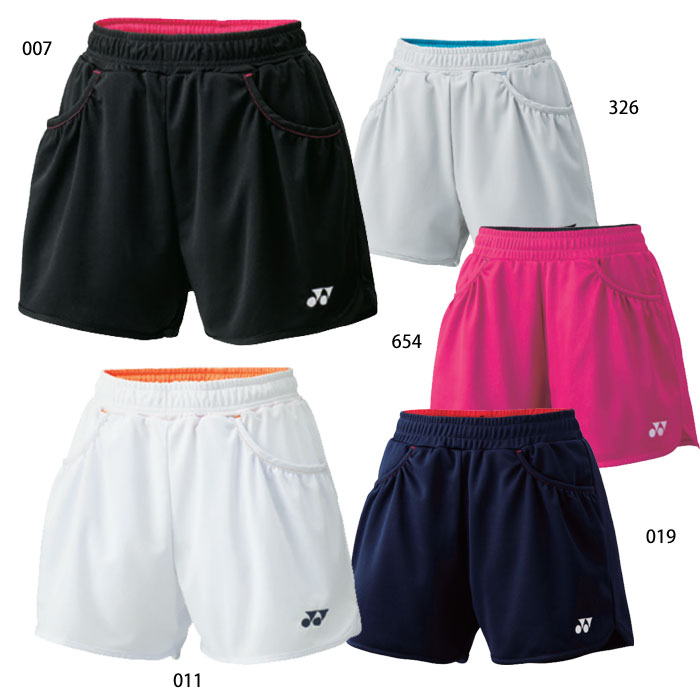 ヨネックスのスポーツウェア 名入れ刺繍OK ヨネックス テニス バドミントン レディース ニットショートパンツ 正規品送料無料 25019 卓出 スポーツウェア