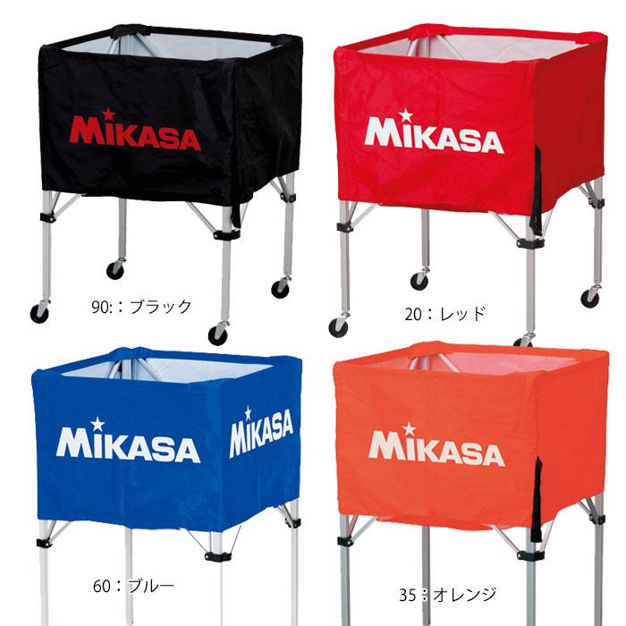 名入れ対応! ミカサ バレーボール 箱型ボールカゴ3点セット ボールカゴ 箱型 大 バレー BC-SP-H