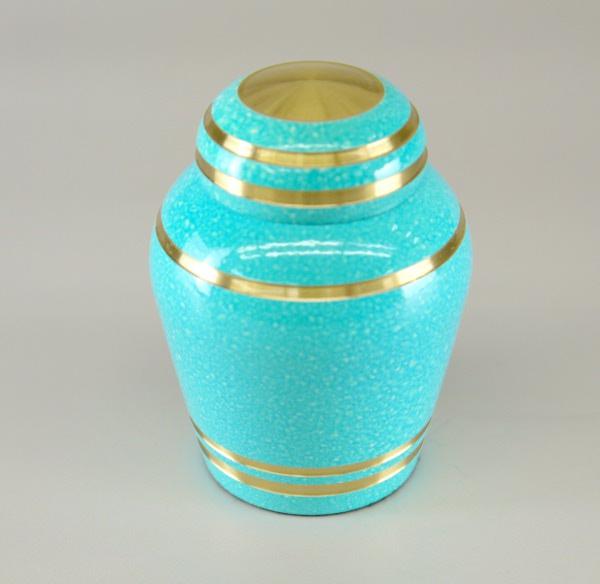 コアボトル(骨壷)(骨壺) ミニ骨壷 スカイブルー  ●お仏壇・仏具の浜屋