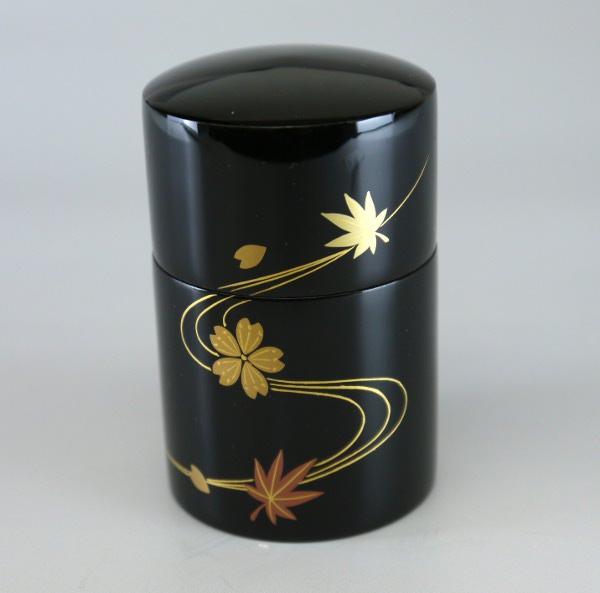 本漆の骨壷(骨壺) 春秋流水  ●お仏壇・仏具の浜屋