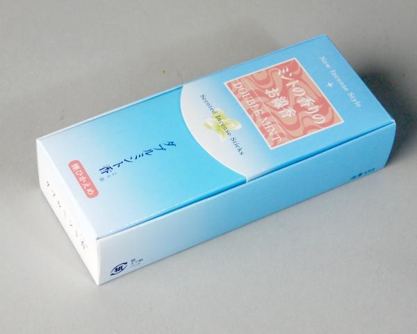 2つのミントをブレンドしたさわやかな香り ダブルミント香 ミントの香りのお線香 お仏壇 初売り 仏具の浜屋 新発売