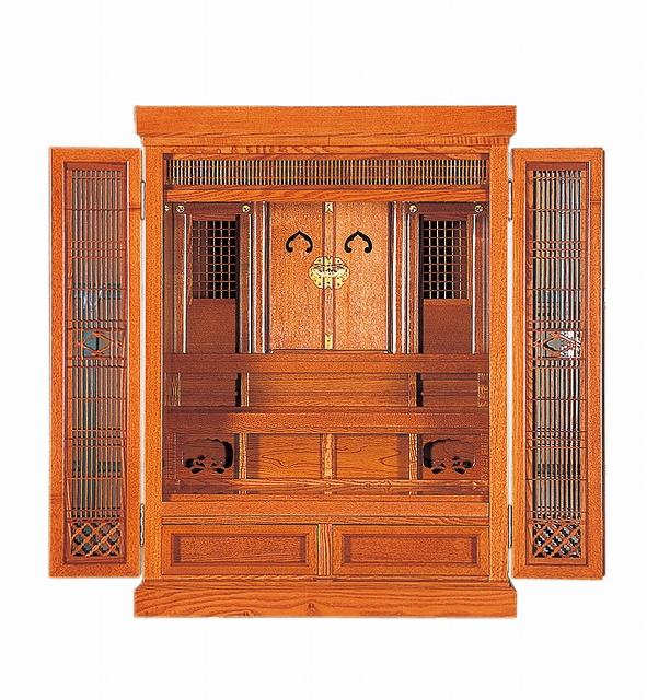 祖霊舎(神徒壇) 橘18号(新ケヤキ) 横巾57cm ●お仏壇・仏具の浜屋