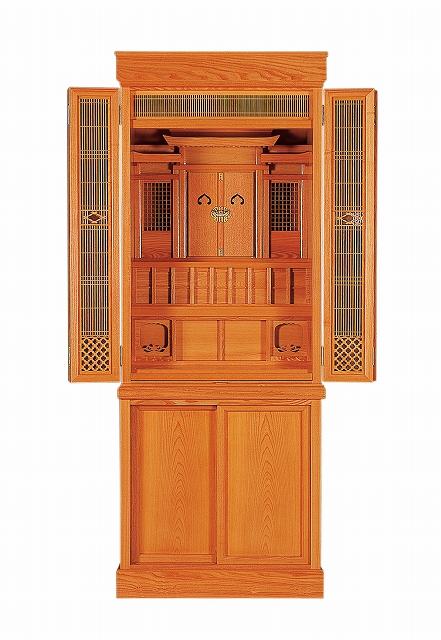 祖霊舎(神徒壇) 報恩18号(新けやき) 横巾58cm ●お仏壇・仏具の浜屋