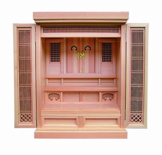 祖霊舎(神徒壇) 橘18号 横巾57cm ●お仏壇・仏具の浜屋