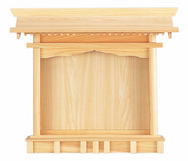 札はり (ひのき) 横巾58×高さ50cm 【神棚】 ●お仏壇・仏具の浜屋