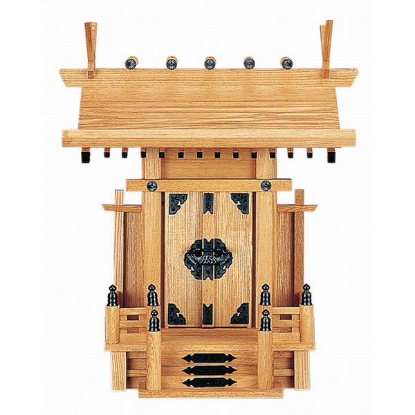 大々神明 (新けやき) 横巾43×高さ52cm 【神棚】 ●お仏壇・仏具の浜屋