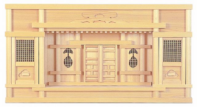 東型箱宮 尺5寸 (ひのき) 横巾45×高さ31cm 【神棚】 ●お仏壇・仏具の浜屋