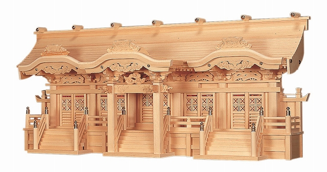 光明五社  横巾131×高さ55cm 【神棚】 ●お仏壇・仏具の浜屋