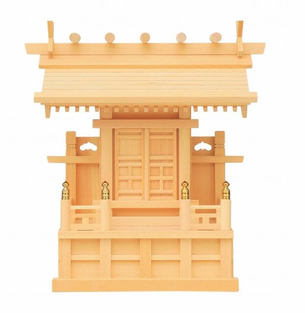 鹿屋野一社 (木曽ひのき) 横巾41×高さ44cm 【神棚】 ●お仏壇・仏具の浜屋