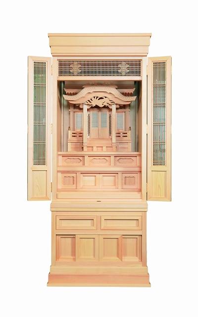 祖霊舎(神徒壇) 永寿20号(塗仕上) 横巾67cm ●お仏壇・仏具の浜屋
