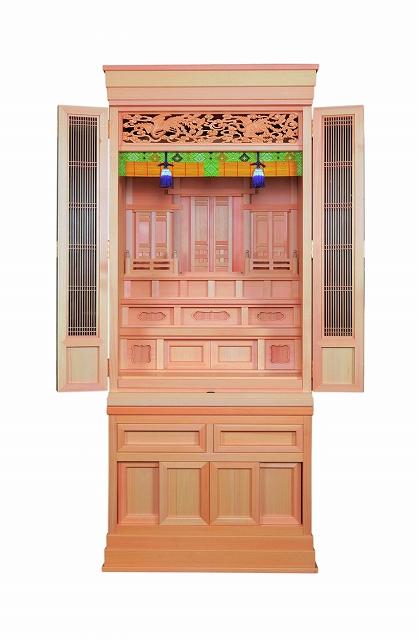 祖霊舎(神徒壇) 新白雲20号(塗仕上) 横巾67cm ●お仏壇・仏具の浜屋