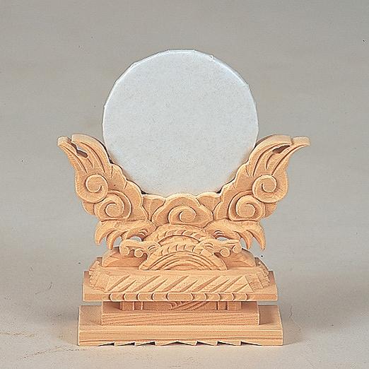 神鏡上彫 3寸 【神具】 ●お仏壇・仏具の浜屋