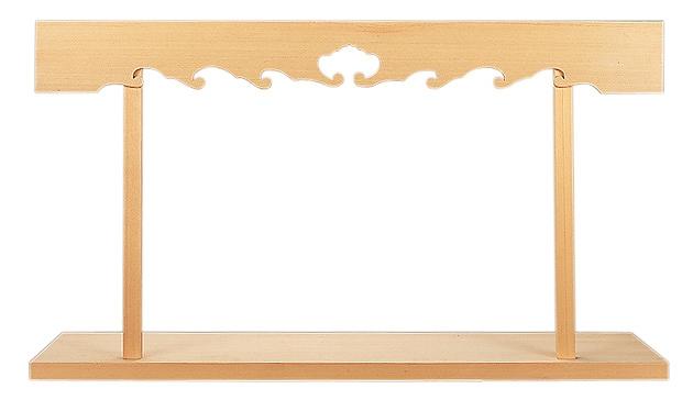 棚板中3尺6寸5分 (木曽ひのき) 横巾110cm 【神具】 ●お仏壇・仏具の浜屋