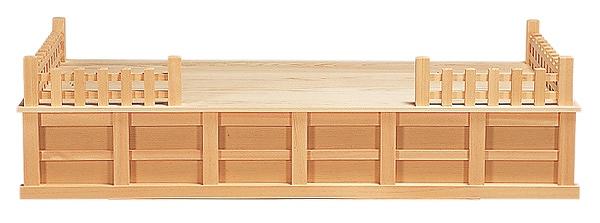 神棚台 (玉垣付) 横巾90cm 【神具】 ●お仏壇・仏具の浜屋
