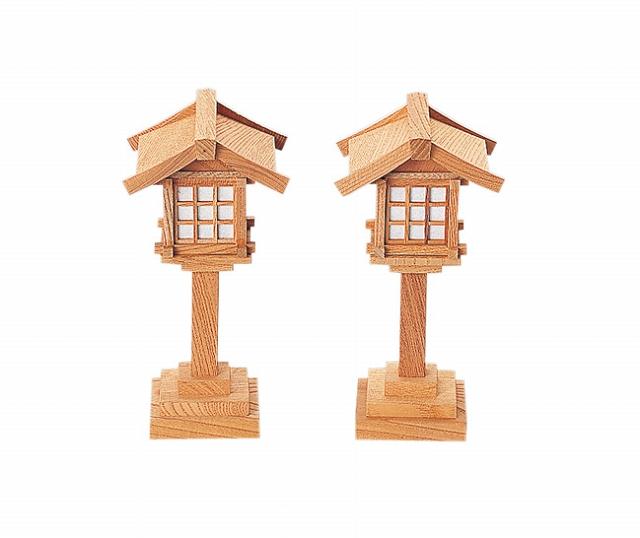 春日燈籠6寸コード式(けやき) 【神具】 ●お仏壇・仏具の浜屋