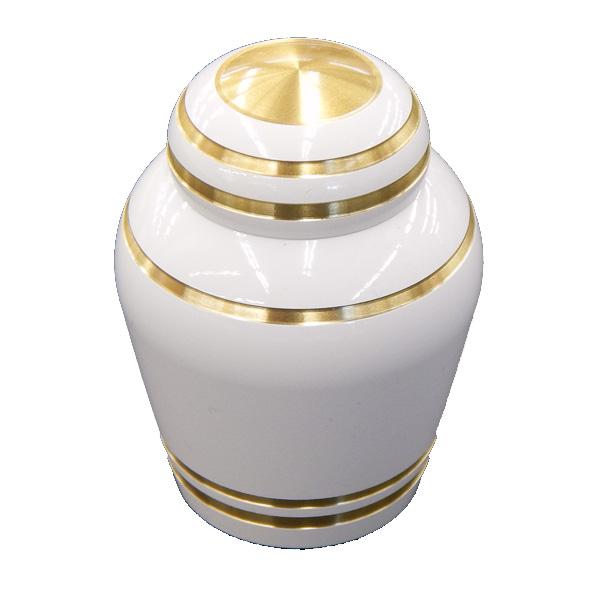 コアボトル(骨壷)(骨壺) ミニ骨壷 ピュアホワイト  ●お仏壇・仏具の浜屋