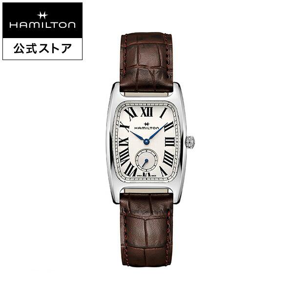 ハミルトン 公式 腕時計 Hamilton Boulton アメリカンクラシック ボルトン メンズ レザー | 正規品 時計 革ベルト ブラウン クォーツ メンズ腕時計 ブランド腕時計 ビジネス メンズウォッチ 男性腕時計 おしゃれ 男性 watch シンプル ウオッチ 男性用腕時計
