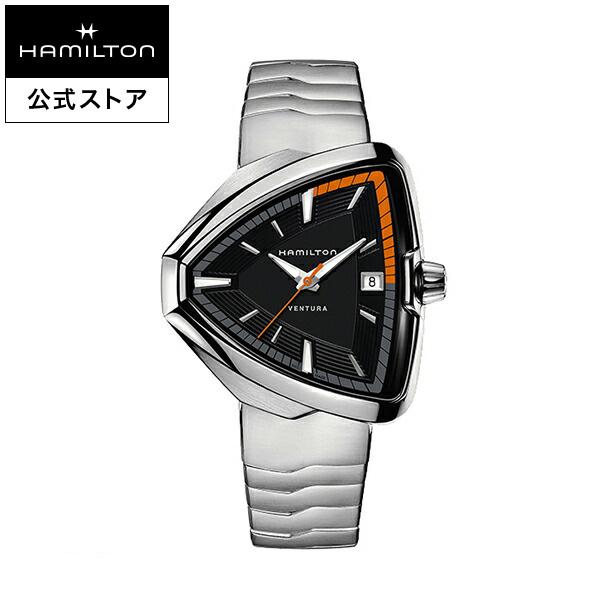 ハミルトン 公式 腕時計 Hamilton Ventura Elvis80 ベンチュラ エルヴィス80 メンズ メタル | 正規品 時計 メンズ腕時計 ブレスレットウォッチ ブレスレット クォーツ ウォッチ 男性腕時計 watch クオーツ 男性 ウオッチ 電池 メタルバンド クォーツ腕時計 ギフト