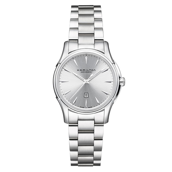 ハミルトン 公式 腕時計 Hamilton Jazzmaster Viewmatic Lady Auto34mm ジャズマスター ビューマチック レディ オート レディース メタル シルバー | 正規品 時計 レディース腕時計 ブランド ビジネス おしゃれ 女性腕時計 女性 オフィス 機械式自動巻 女性用腕時計