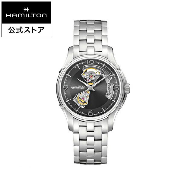 ハミルトン 公式 腕時計 Hamilton Jazzmaster Open Heart ジャズマスター オープンハート メンズ メタル | 正規品 時計 メンズ腕時計 ブランド ブレスレットウォッチ 自動巻き ビジネス 機械式 おしゃれ watch オートマティック オートマチック 男性 シルバー 男性用腕時計