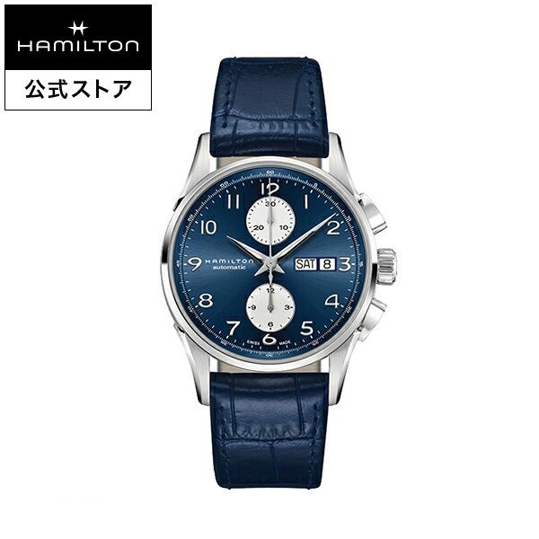 ハミルトン 公式 腕時計 Hamilton JM Maestro DD AC41-bu-l-bu ジャズマスター マエストロ メンズ レザー | 正規品 時計 メンズ腕時計 ブランド 革ベルト ウォッチ ブランド腕時計 ビジネス うでとけい watch ブルー 青 紳士 革 男性 ウオッチ レザーベルト メンズウォッチ