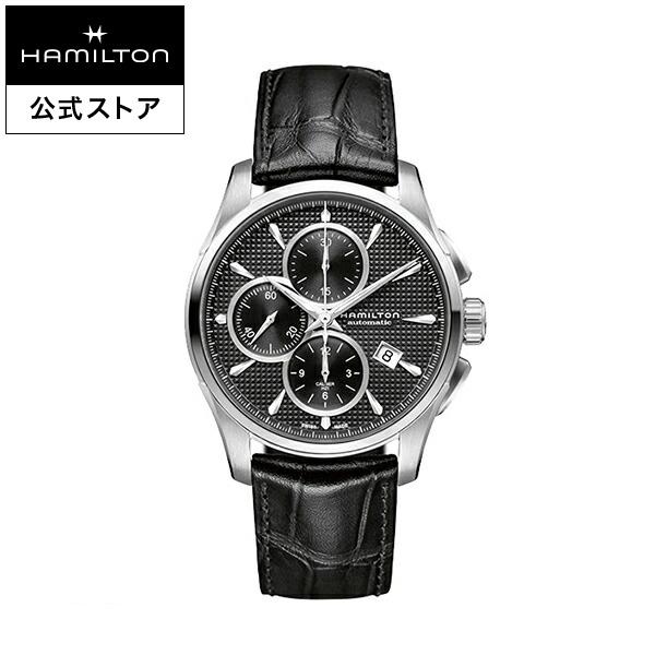 ハミルトン 公式 腕時計 Hamilton Jazzmaster Auto Chrono ジャズマスター オートクロノ メンズ レザー | 正規品 時計 メンズ腕時計 ブランド 革ベルト ウォッチ ビジネス うでとけい 男性腕時計 革 男性 プレゼント レザーベルト メンズウォッチ