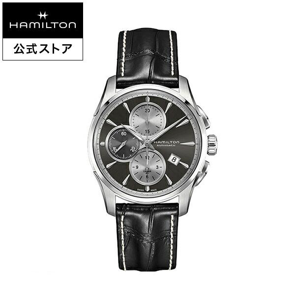 ハミルトン 公式 腕時計 Hamilton Jazzmaster Auto Chrono ジャズマスター オートクロノ メンズ レザー | 正規品 時計 メンズ腕時計 ブランド 革ベルト ウォッチ ビジネス うでとけい 男性腕時計 革 男性 オフィス 誕生日プレゼント メンズウォッチ 男性用腕時計