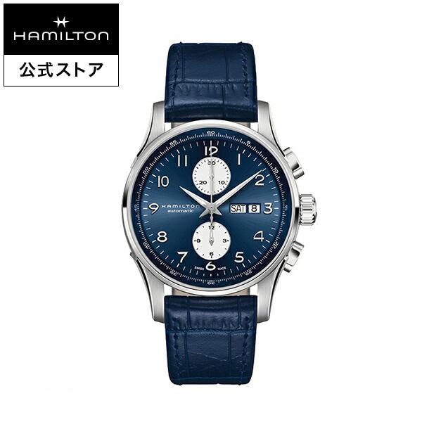 ハミルトン 公式 腕時計 Hamilton JM Maestro DD AC45-bu-l-bu ジャズマスター マエストロ メンズ レザー | 正規品 時計 メンズ腕時計 ブランド クロノグラフ 自動巻き 革ベルト ウォッチ 自動巻 機械式 おしゃれ 男性腕時計 watch ブルー 青 革 男性 ウオッチ 皮ベルト