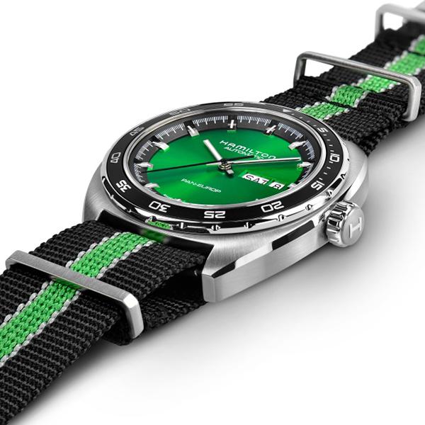 hot sale online bca6f 7aebb 公式の店舗 ハミルトン 公式 腕時計 Hamilton PanEurop DD A42 ...