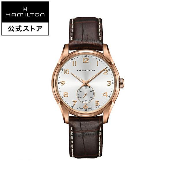 ハミルトン 公式 腕時計 Hamilton Jazzmaster Thinline Small Second ジャズマスター シンライン プチセコンド メンズ レザー | 正規品 時計 メンズ腕時計 ブランド クォーツ 革ベルト ビジネス ピンクゴールド クオーツ 革 オフィス 20mm 誕生日プレゼント 男性用腕時計