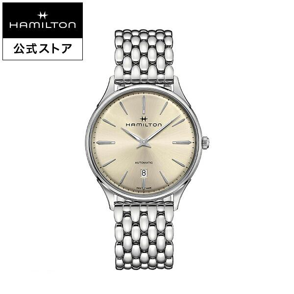 ハミルトン 公式 腕時計 Hamilton Jazzmaster Thinline 40mm ジャズマスター シンライン オート メンズ メタル | 正規品 時計 メンズ腕時計 ブランド ブレスレットウォッチ ブレスレット ウォッチ ビジネス 機械式自動巻 シンプル 男性