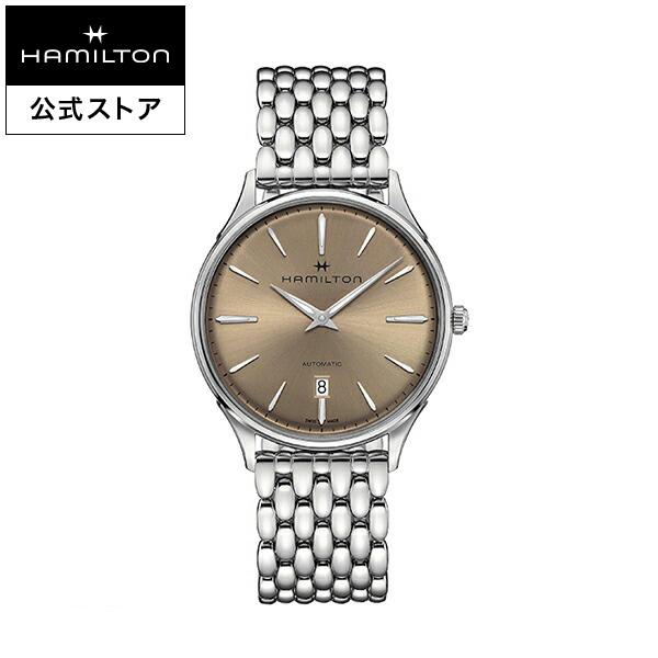 ハミルトン 公式 腕時計 Hamilton Jazzmaster Thinline 40mm ジャズマスター シンライン オート メンズ メタル | 正規品 時計 メンズ腕時計 ブランド ブレスレットウォッチ ブレスレット クォーツ ウォッチ ビジネス クオーツ シンプル 男性
