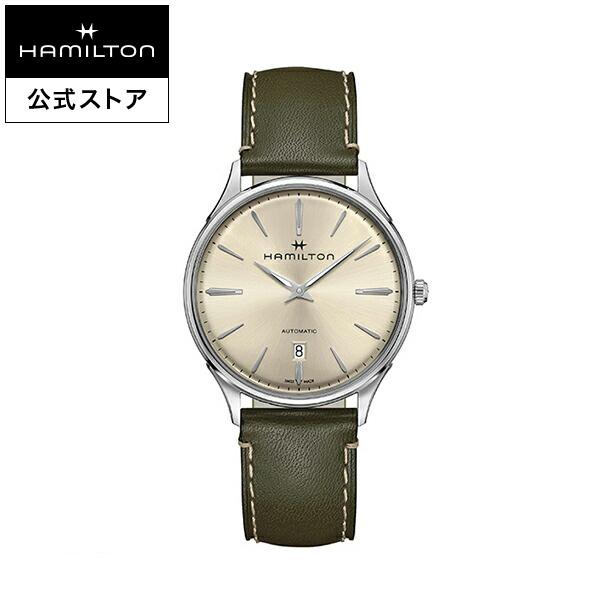 ハミルトン 公式 腕時計 Hamilton Jazzmaster Thinline 40mm ジャズマスター シンライン オート メンズ レザー | 正規品 時計 メンズ腕時計 ブランド 革ベルト ウォッチ 自動巻 ビジネス watch 紳士 革 男性 オフィス スーツ ファッション時計 カジュアル 男性用腕時計